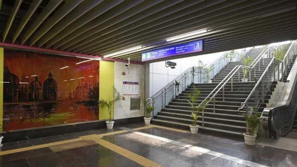 В Нью-Дели откроют самую маленькую в мире станцию метро