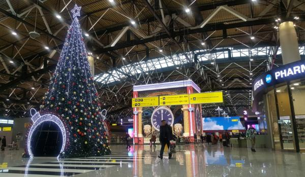 Число пассажиров международных рейсов аэропортов Москвы вырастет на 40% в праздничные дни