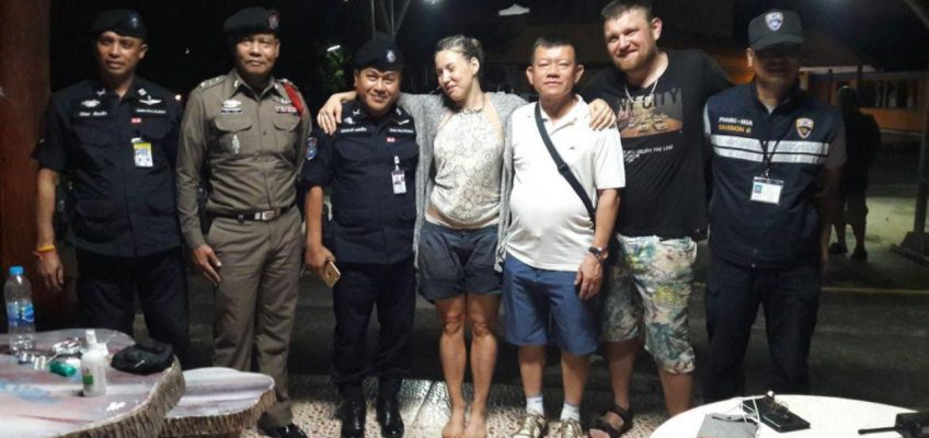Пара туристов из России заблудились в Таиланде в лесу