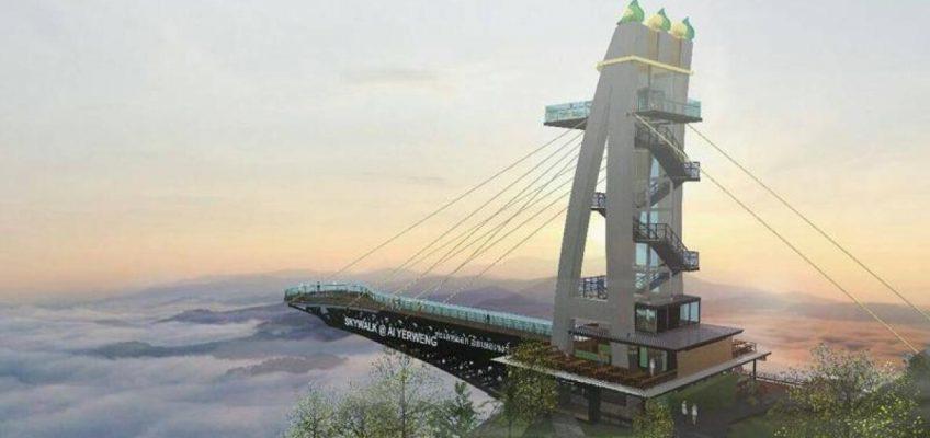 Самая длинная в Азии прогулочная площадка в небе будет построена в южном Таиланде (ВИДЕО)