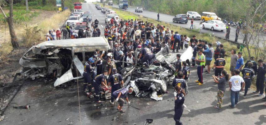 Таиланд лидирует по количеству смертей на дорогах в ЮВА и занимает 3 место в мире