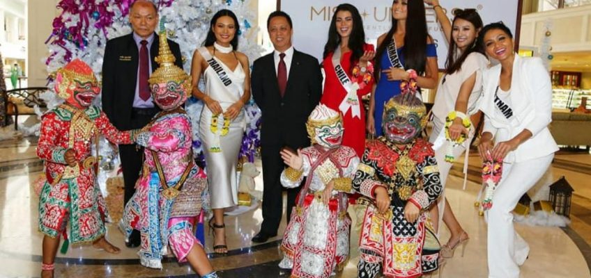 Участницы конкурса Miss Universe 2018 приехали в Паттайю (ФОТО)