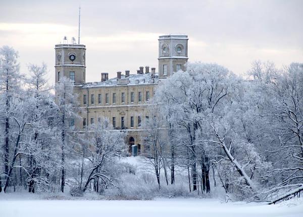Новогодний фестиваль открылся в Гатчинском музее-заповеднике под Петербургом