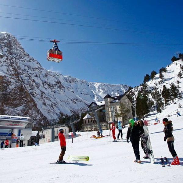 Турпоток в начале этого года на курорт «Эльбрус» вырос на 10%