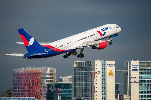 Azur Air планирует начать полеты из Китая в Ульяновск летом 2019 года