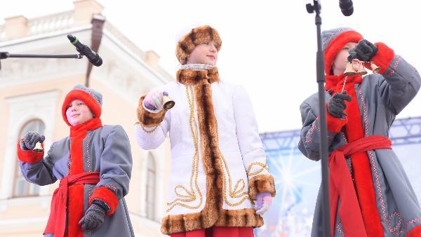Перезвоном 2019 колоколов встретили Рождество в Вологде