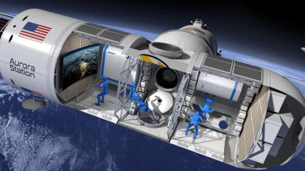 Orion Span показала проект первого космического отеля класса люкс