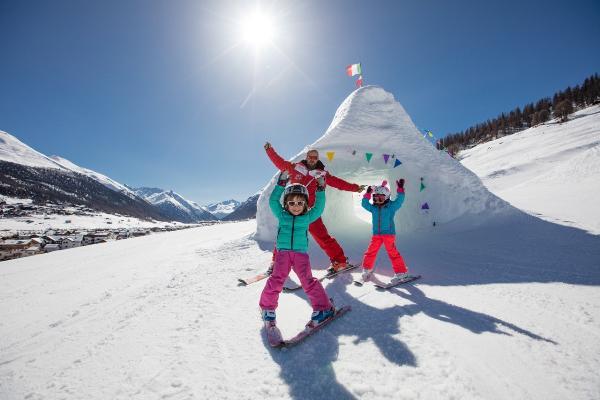 На итальянском курорте Ливиньо стартуют «Семейные недели» - дети отдыхают бесплатно!