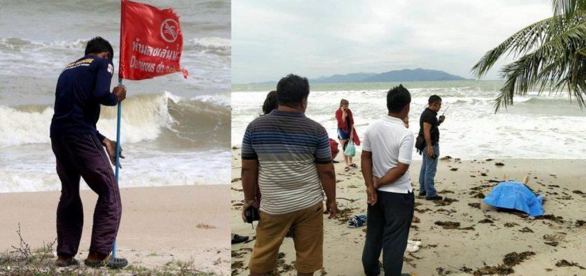Турист из России утонул на Самуи – первая жертва тайфуна Пабук в Таиланде