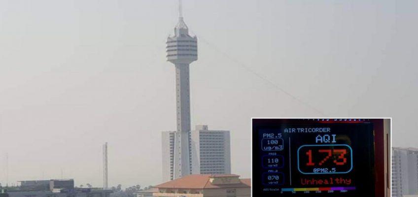 Грязный воздух и смог в Паттайе – вы верите в это?