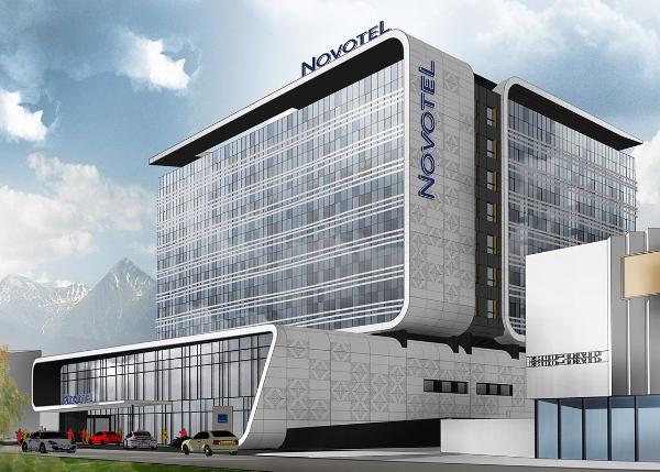 Группа AccorHotels открывает первый Novotel в Казахстане